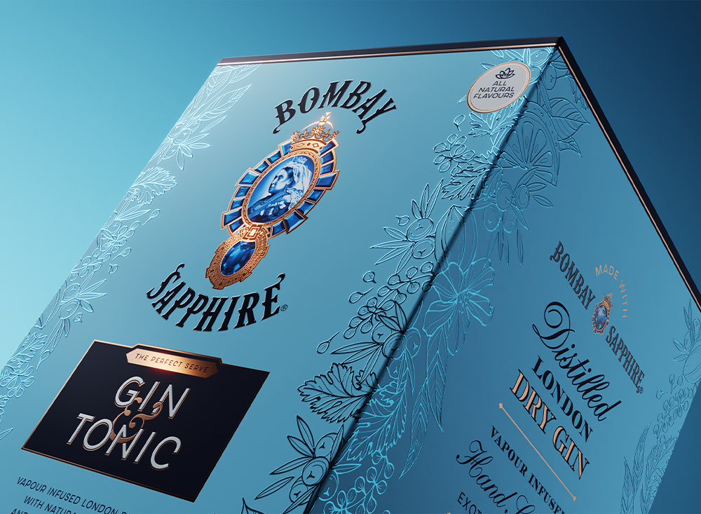 Bombay Sapphire G&T collection